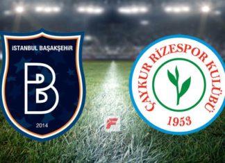 Başakşehir – Çaykur Rizespor maçı hangi kanalda, saat kaçta?