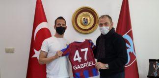 Trabzonspor'dan Joao Pereira'ya teşekkür plaketi