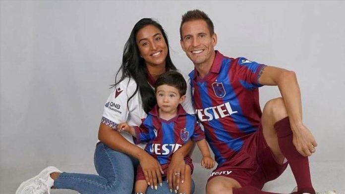 Trabzonspor haberi: Joao Pereira ve eşi Natacha Esmail'den teşekkür mesajı