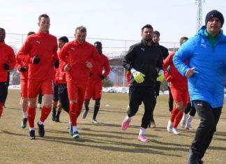 Sivasspor'da Rizespor maçı hazırlıkları devam ediyor