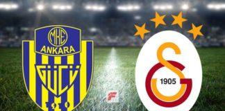 Galatasaray'la Ankaragücü'nün 100. lig maçı