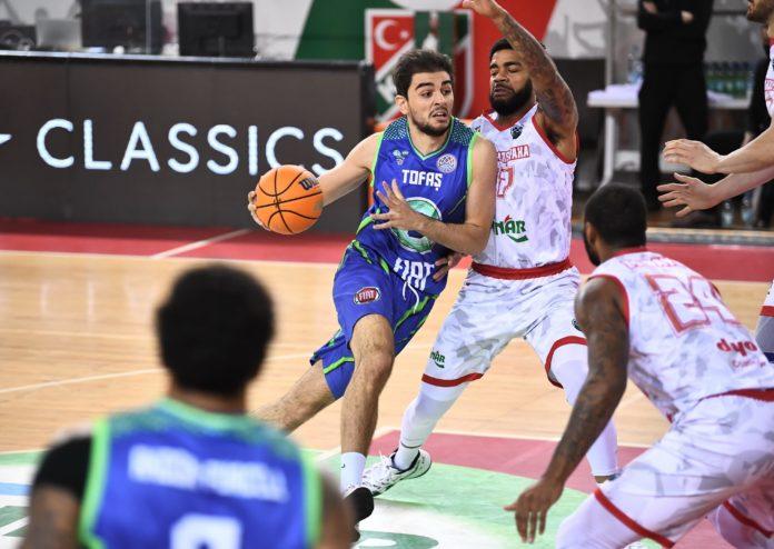 Pınar Karşıyaka-TOFAŞ maç sonucu: 78 -70