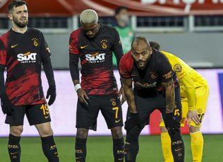 Galatasaray'ın serisi Ankara'da sona erdi