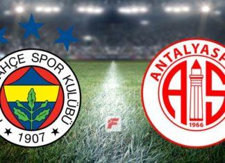 Fenerbahçe – Antalyaspor (CANLI)