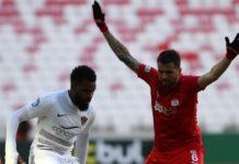 Sivasspor'da sakatlanan Claudemir 2 hafta yok