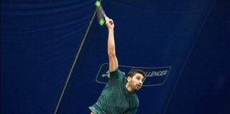 Milli tenisçi Altuğ Çelikbilek'ten Rusya'da ikincilik