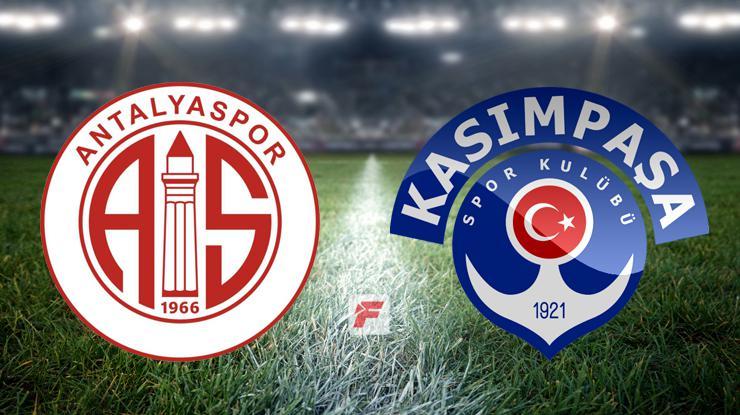 Antalyaspor – Kasımpaşa maçı hangi kanalda, saat kaçta? (İşte 11'ler)