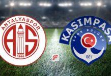 Antalyaspor – Kasımpaşa canlı