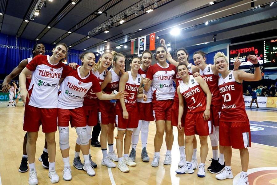2021 FIBA Kadınlar Avrupa Basketbol Şampiyonası'nda rakipler belli oldu