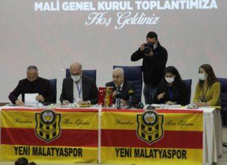 Yeni Malatyaspor'da Adil Gevrek yönetimi, oy birliğiyle ibra edildi