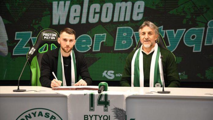 Zymer Bytyqi, Konyaspor'da oynadığı için mutlu
