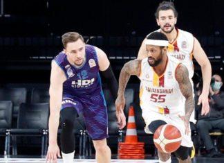 Galatasaray'dan 40 sayı fark! Galatasaray-Afyon Belediyespor maç sonucu: 110-70