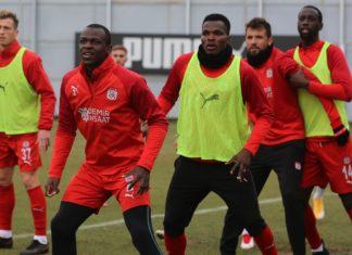 Sivasspor, Antalyaspor maçının hazırlıklarını tamamladı