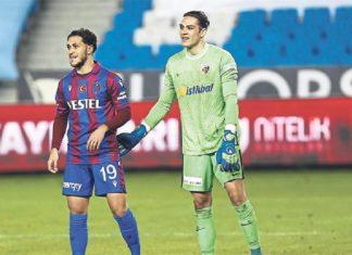 Trabzonspor maçının yıldızı Doğan Alemdar!