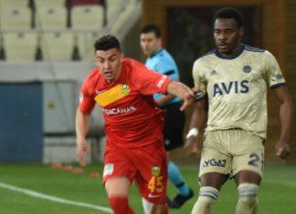 (ÖZET) Yeni Malatyaspor – Fenerbahçe maç sonucu: 1-1