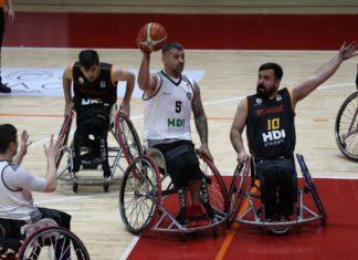 HDI Sigorta Tekerlekli Sandalye Basketbol Süper Ligi 1. etap müsabakaları başladı
