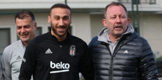 Beşiktaş haberi: Sergen Yalçın'dan Cenk Tosun'a: Bu halinle bile atarsın!