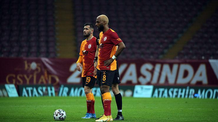 Galatasaray'ın telafi golü Ryan Babel'den