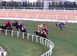 At yarışında korkutan kaza! 3 jokey hastaneye kaldırıldı