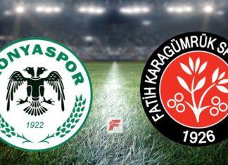 Konyaspor – Fatih Karagümrük maçı (CANLI)