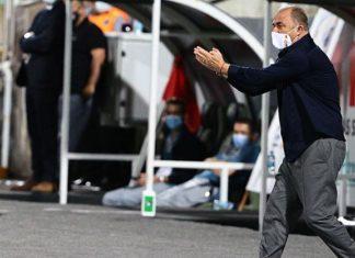 Fatih Terim, Galatasaray'da 400. lig maçına çıktı