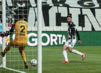 Beşiktaş'ta Rachid Ghezzal, gol sayısını 7'ye çıkardı