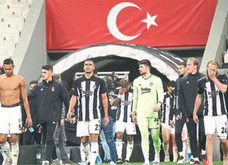 Beşiktaş'ın elindeki tek avantajı 2 gol