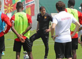Göztepe'de Ünal Karaman, takımın performansından memnun kalmadı