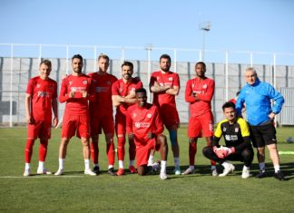 Sivasspor, Kasımpaşa maçının hazırlıklarına başladı
