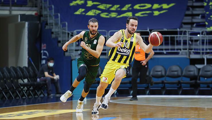 ING Basketbol Süper Ligi play-off   Fenerbahçe Beko – Darüşşafaka Tekfen maç sonucu: 103 –  91