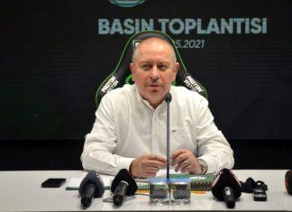 Konyaspor Başkanı Hilmi Kulluk, yeniden aday olmayacak