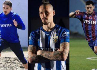Trabzonspor'da Abdullah Avcı'nın orta sahası: Hamsik, Bakasetas, Abdülkadir Ömür