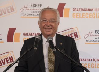 Galatasaray haberi… Eşref Hamamcıoğlu: Biz ne hayal satarız ne de kulübü sattırırız