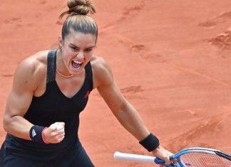 Maria Sakkari, son şampiyon Iga Swiatek'i eledi!