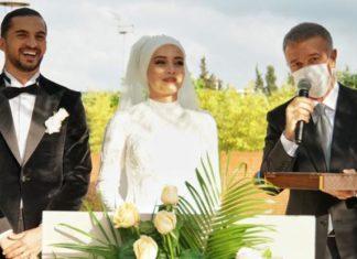 Trabzonsporlu Hüseyin Türkmen dünyaevine girdi