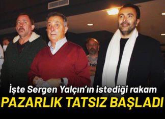 Beşiktaş – Sergen Yalçın görüşmesinde pazarlıklar tatsız başladı!