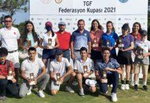 TGF Federasyon Kupası'nın ilk gününde 18 yaş altı sporcular sahaya çıktı