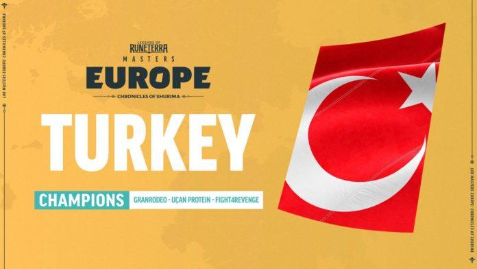 Legends of Runeterra Masters Avrupa Turnuvası şampiyonu Türkiye