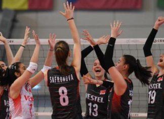 U16 Kız Voleybol Milli Takımı, Avrupa Şampiyonası yarı finalinde