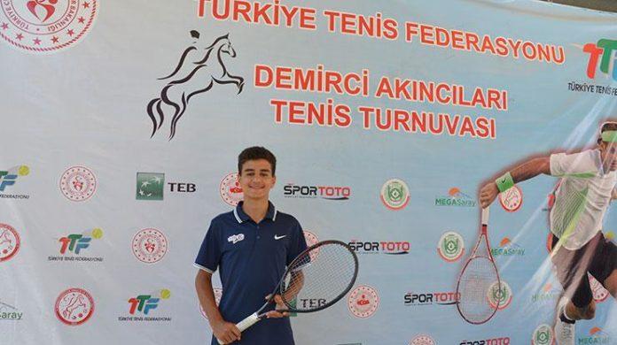 Demirci Akıncıları Tenis Turnuvası sona erdi