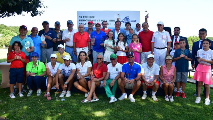 15 Temmuz Demokrasi ve Milli Birlik Golf Turnuvası tamamlandı