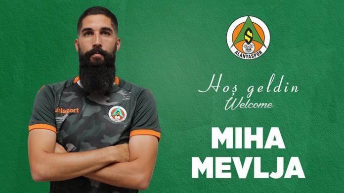 Transfer haberi! Alanyaspor Miha Mevlja'yı kadrosuna kattığını açıkladı