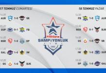 VFŞL'de 6. hafta maçları tamamlandı