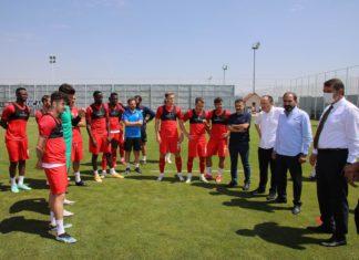 Sivasspor'da Petrocub maçı hazırlıkları sürüyor