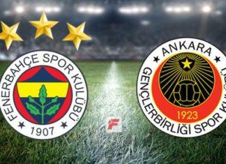 Fenerbahçe maçı hangi kanalda? Fenerbahçe – Gençlerbirliği canlı izle