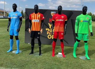 Yukatel Kayserispor yeni sezon formalarını tanıttı