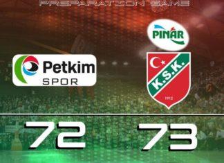 Aliağa Petkimspor-Pınar Karşıyaka maç sonucu: 72-73