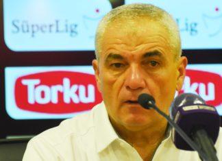 Sivasspor'un hocası Rıza Çalımbay: Gerginliği attık