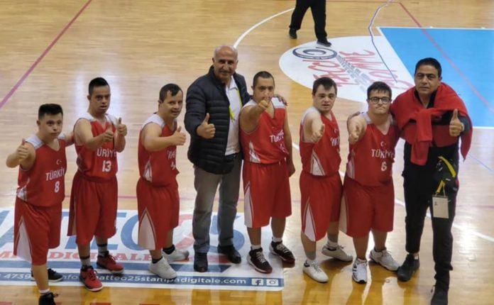 Down Sendromlular Avrupa Oyunları'nda Türkiye, Portekiz'i 32-10'la geçti