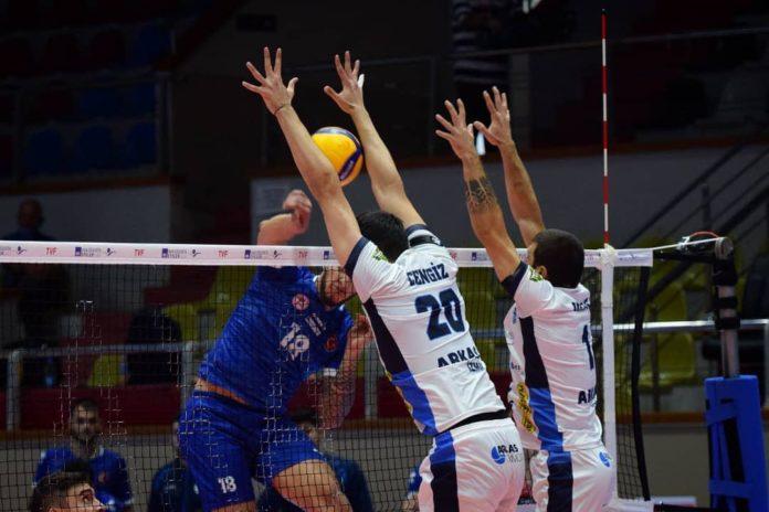 Arkas Spor-Tokat Belediye Plevne maç sonucu: 3-0